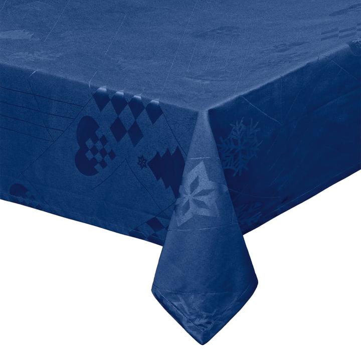 Natale Tablecloth 150 x 220 cm, blue by Juna