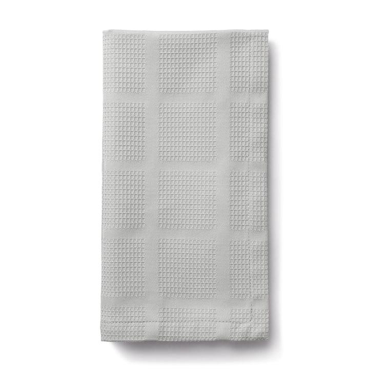Brick Fabric napkins, 45 x 45 cm, grey from Juna