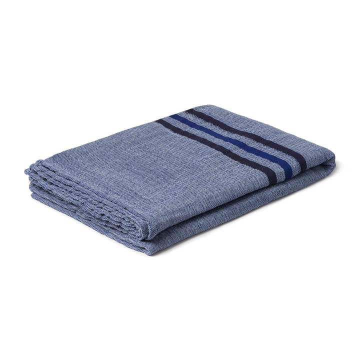 Comfort Blanket, 130 x 190 cm, dark blue from Juna