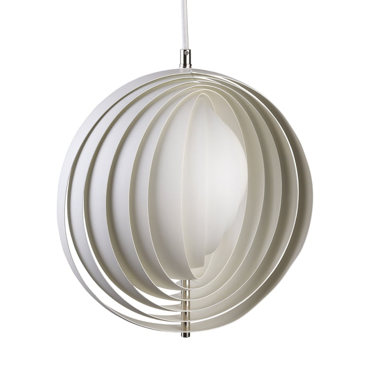 Moon pendant lamp Ø 44,5 cm from Verpan in white