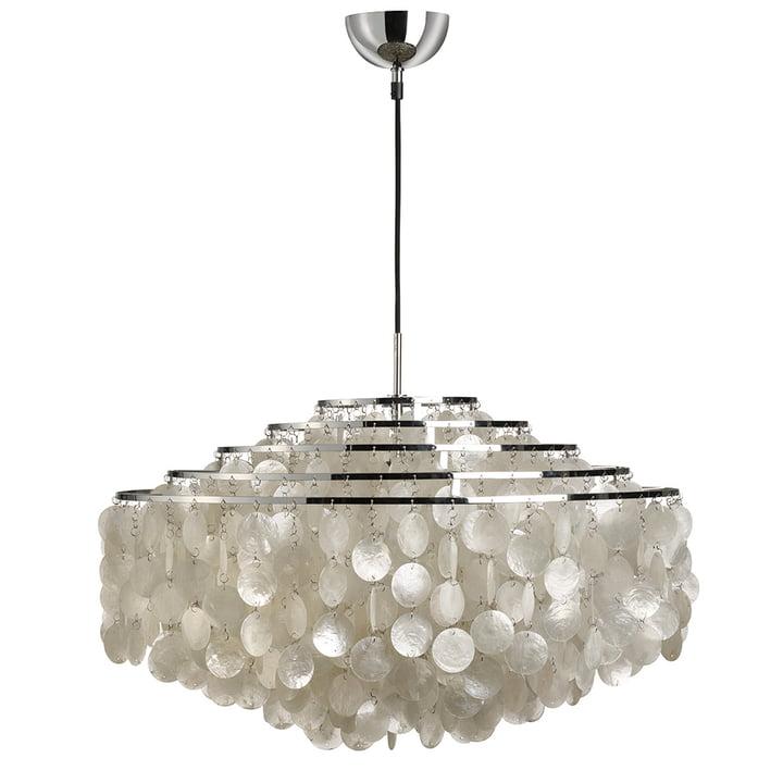 Fun 11DM pendant light from Verpan in chrome