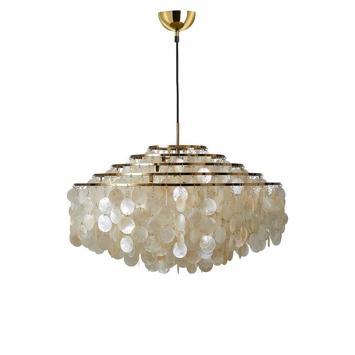 Fun 11DM pendant light from Verpan in brass