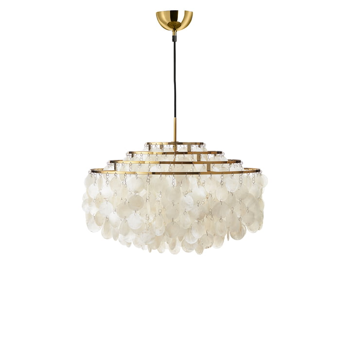 The Verpan - Fun 10DM Pendant Lamp in Brass