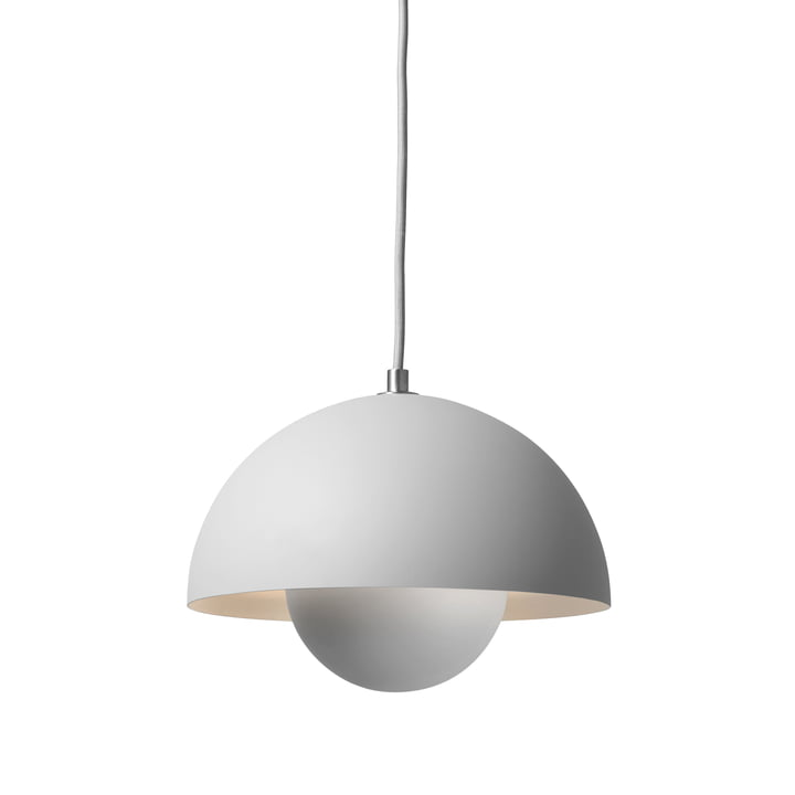 &Tradition - FlowerPot Pendant Lamp VP1, matte light grey