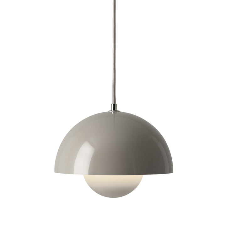 &Tradition - FlowerPot Pendant Lamp VP1, grey beige