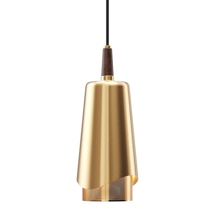 The Umanoff pendant lamp, brass / walnut from Menu