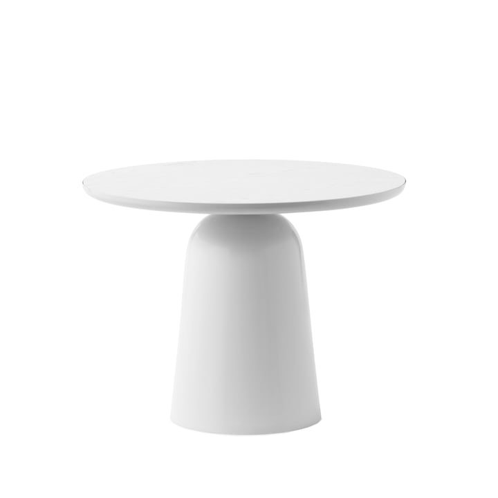 The coffee Turn table Ø 55 cm, warm grey from Normann Copenhagen