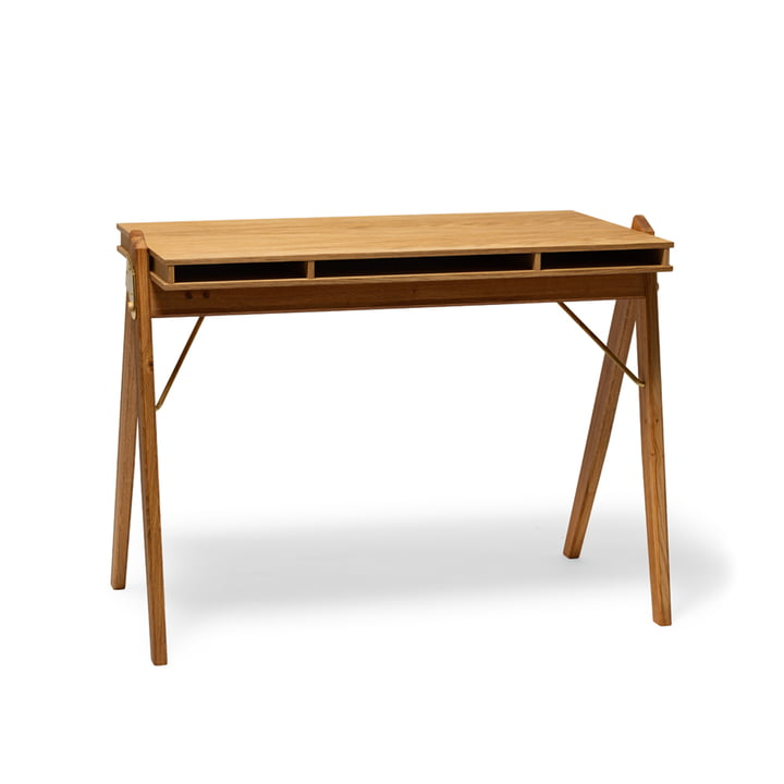 The Field folding table, oak from We Do Wood