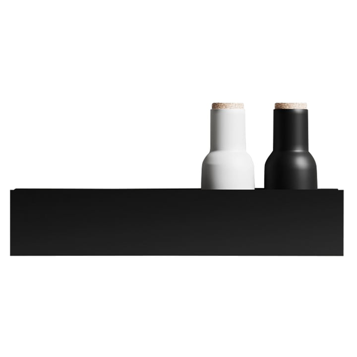 The wall shelf U40 from Nichba Design in black