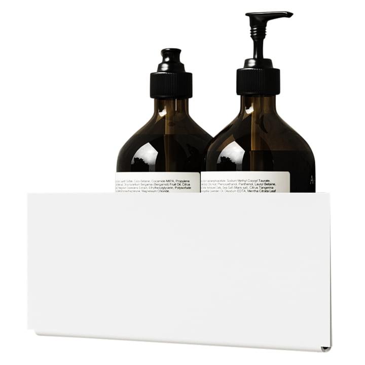 The wall shelf corner of Nichba Design in white