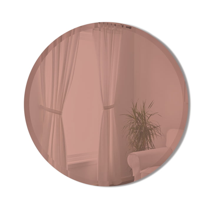 The Hub Bevy mirror of Umbra in copper