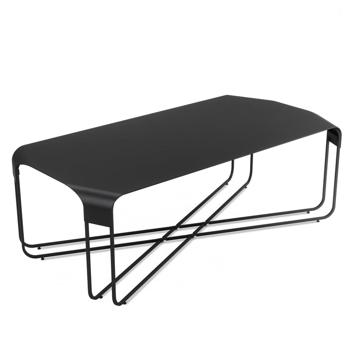 The Graph coffee table from Umbra in black