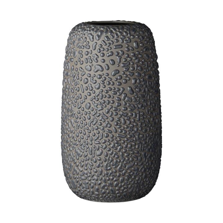 The Gemma Vase, large, dark grey by AYTM