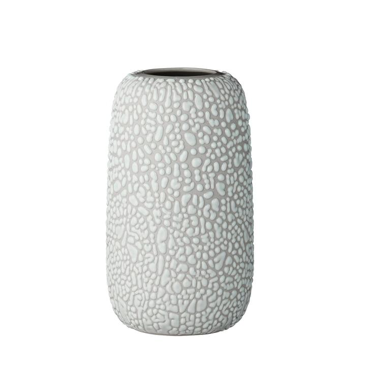 The Gemma Vase, medium, light grey by AYTM