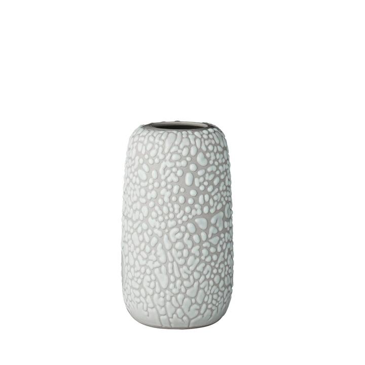 The Gemma Vase, small, light grey by AYTM