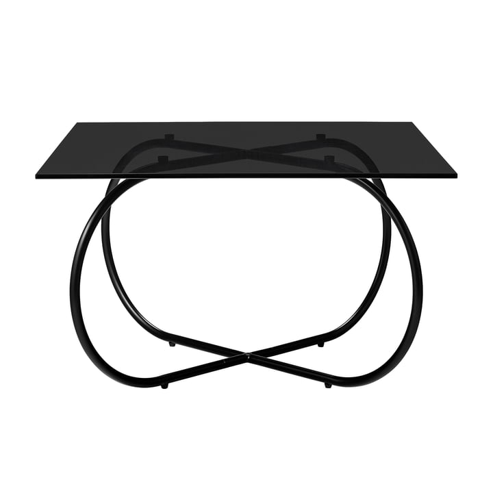 The Angui coffee table, black / anthracite by AYTM