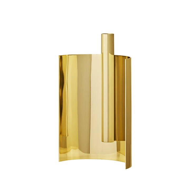 The Asto candleholder 1, gold by AYTM