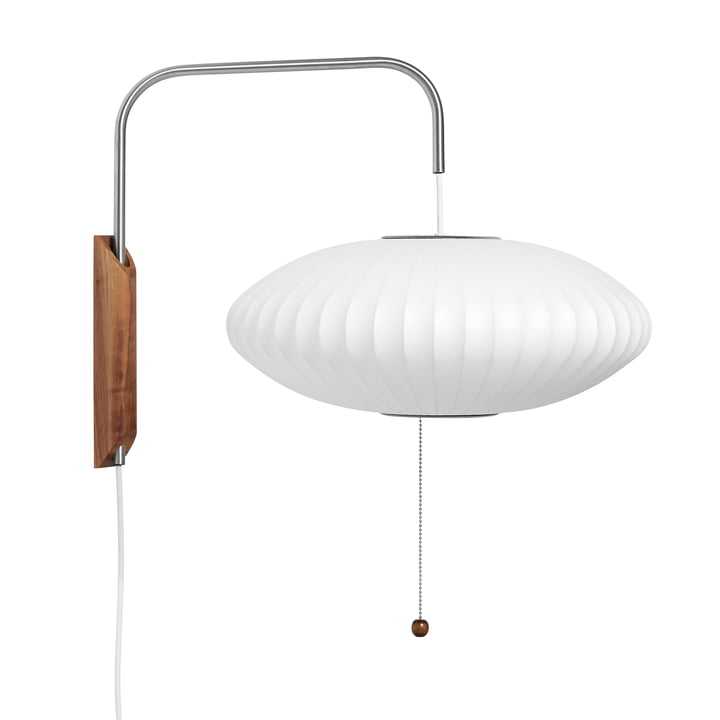 The wall Nelson Saucer lamp S, in off white from Hay