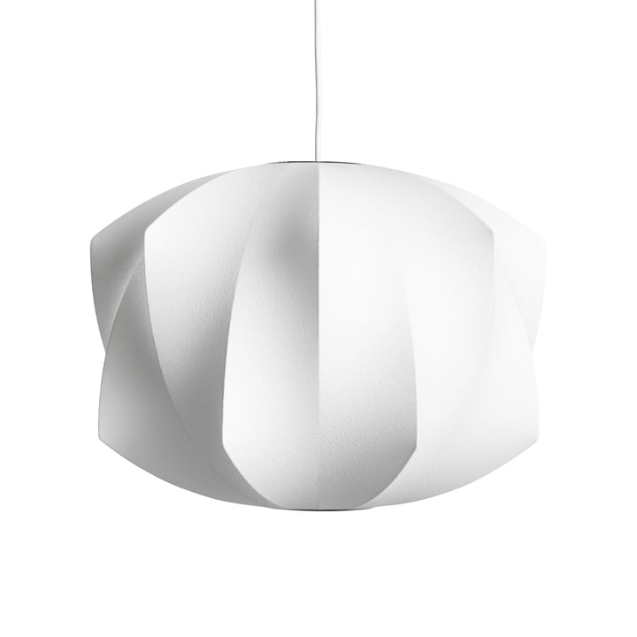 The Nelson Propeller Bubble pendant luminaire M, off white from Hay