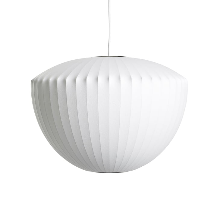 The Nelson Apple Bubble pendant luminaire M, off white from Hay