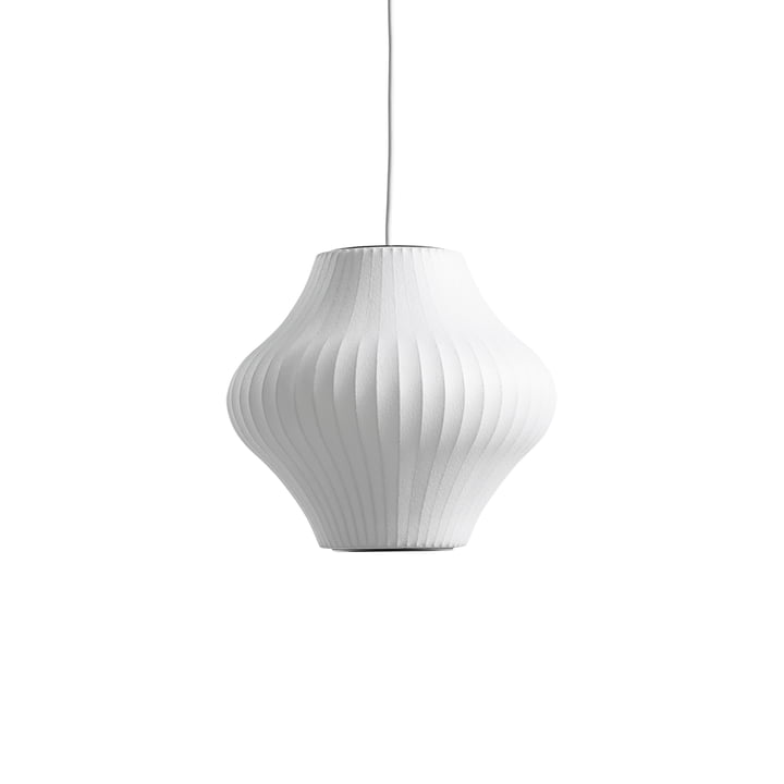 The Nelson Pear Bubble Pendant lamp S, off white from Hay
