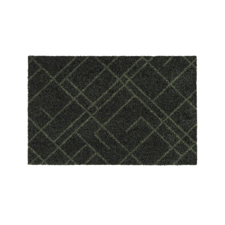 The Lines doormat in dark green from tica copenhagen