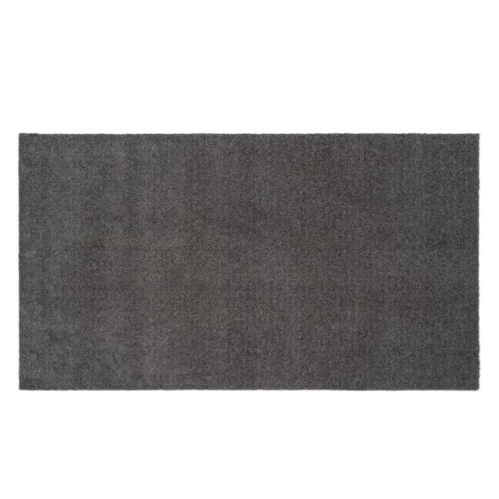 The doormat Unicolor steel grey from tica copenhagen