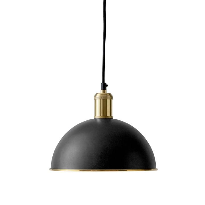The Menu - Tribeca Hubert Pendant Lamp in black / brushed brass