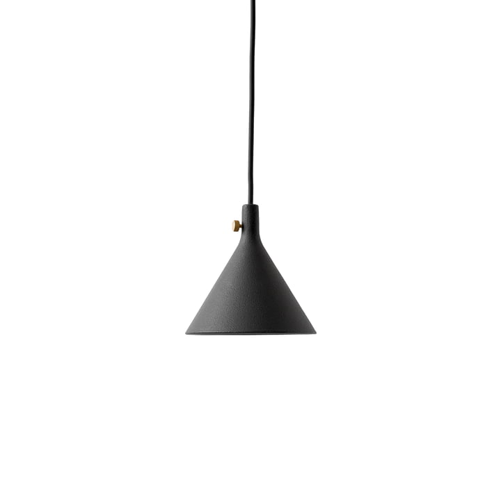 The Menu Cast pendant luminaire in funnel shape