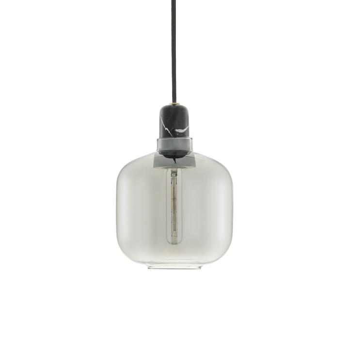Amp Pendant light small from Normann Copenhagen in Smoke / Black