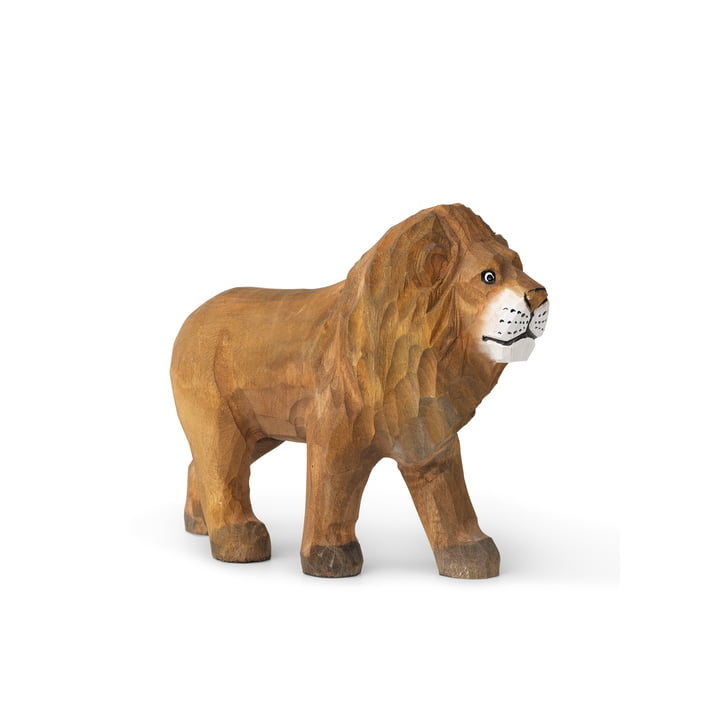 The Animal animal figure of ferm Living as a lion