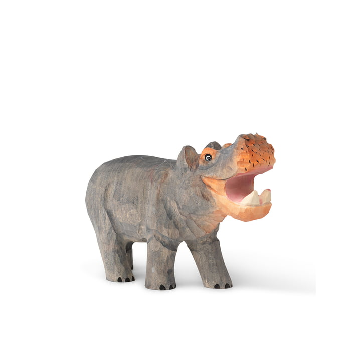 The Animal animal figure from ferm Living as Hippo