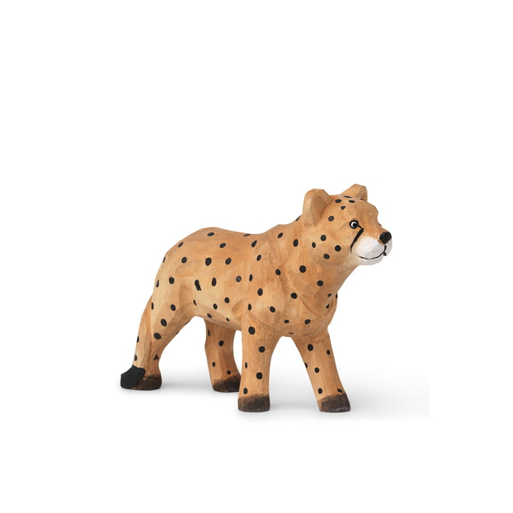 The Animal animal figure from ferm Living as a cheetah