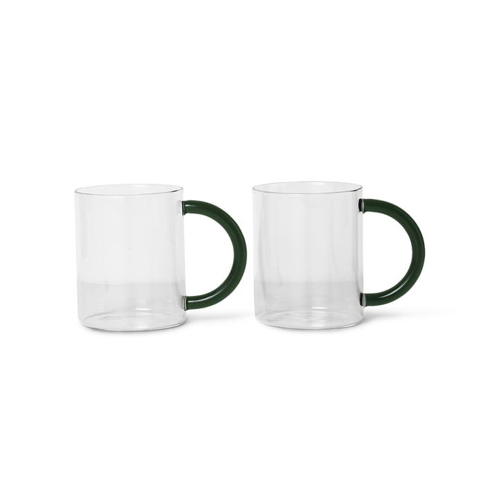 The Still Cup from ferm Living, clear