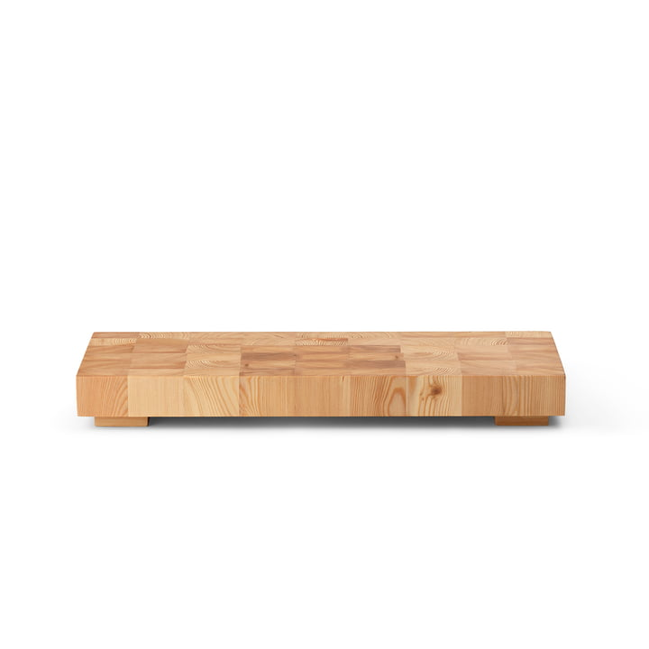 The Chess cutting board from ferm Living in nature, 40 x 15 cm