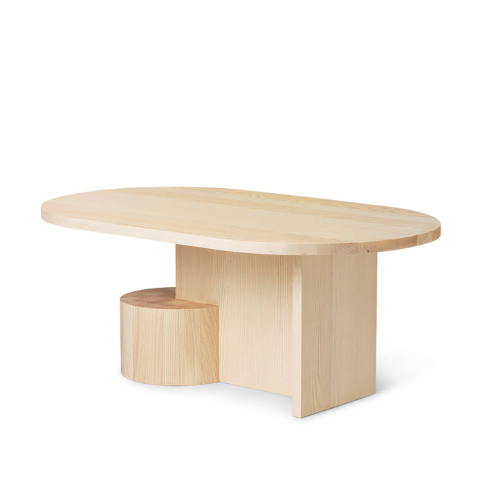 The Insert coffee table by ferm Living, nature