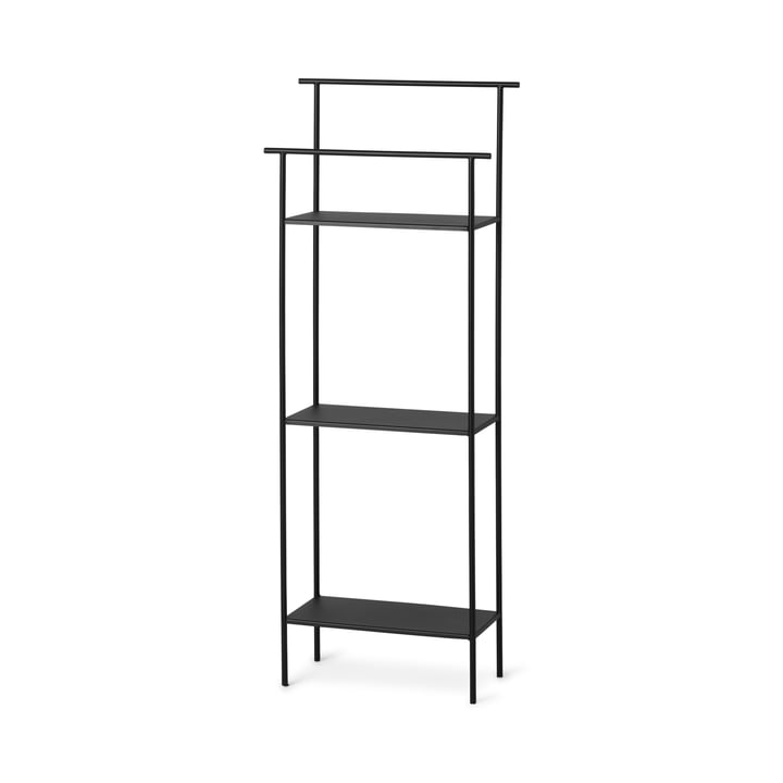 The Dora bathroom shelf from ferm Living in black