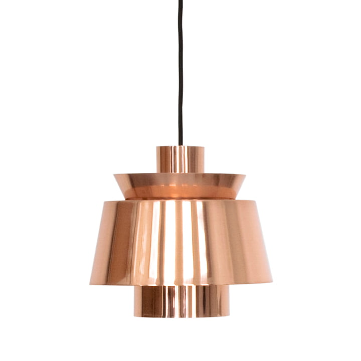Utzon JU1 pendant luminaire from & Tradition in copper