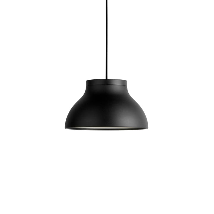 PC pendant lamp S, Ø 25 x H 1 4. 5 cm, soft black by Hay