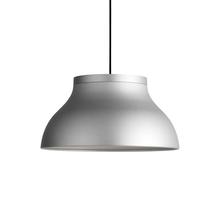 PC pendant lamp M, Ø 40 x H 20. 5 cm, silver by Hay