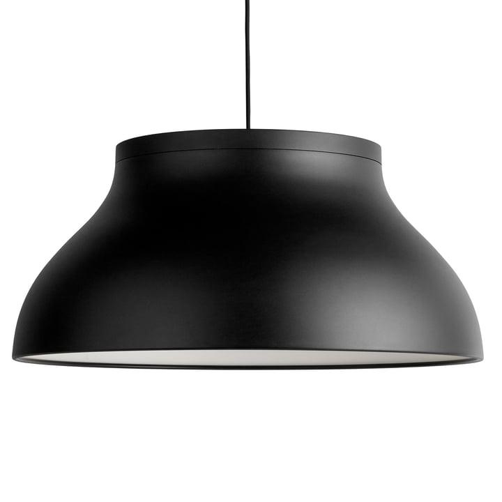 PC pendant lamp L, Ø 60 x H 28 cm, soft black by Hay