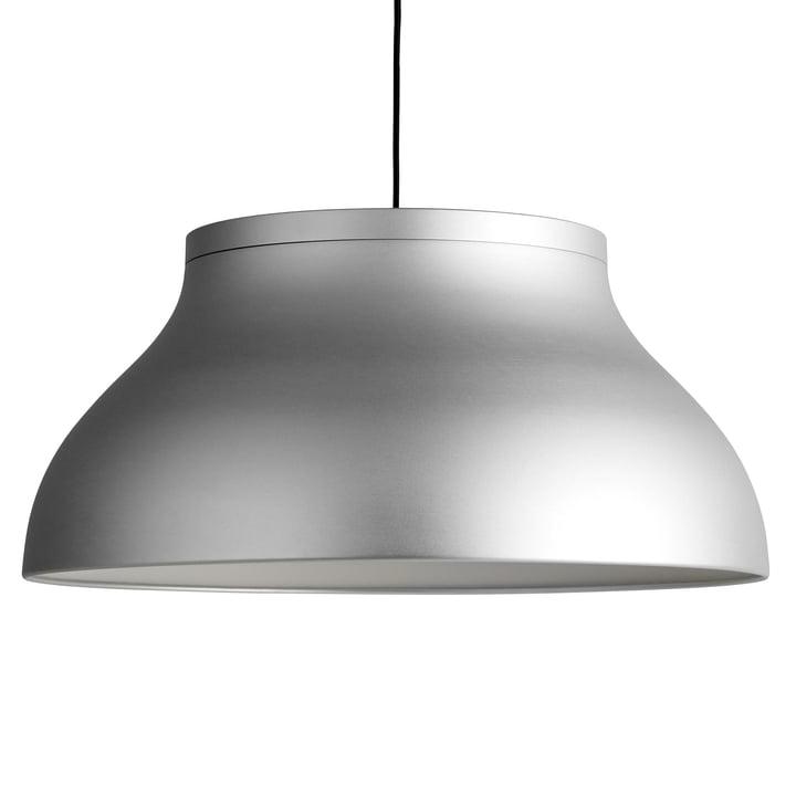 PC pendant lamp L, Ø 60 x H 28 cm, silver by Hay