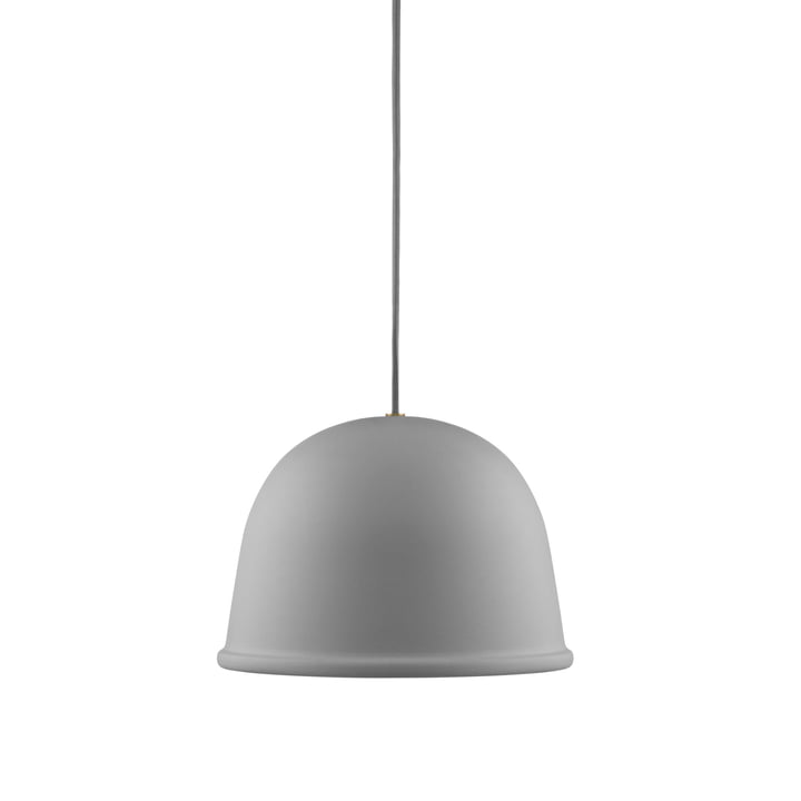 Local pendant light from Normann Copenhagen in grey