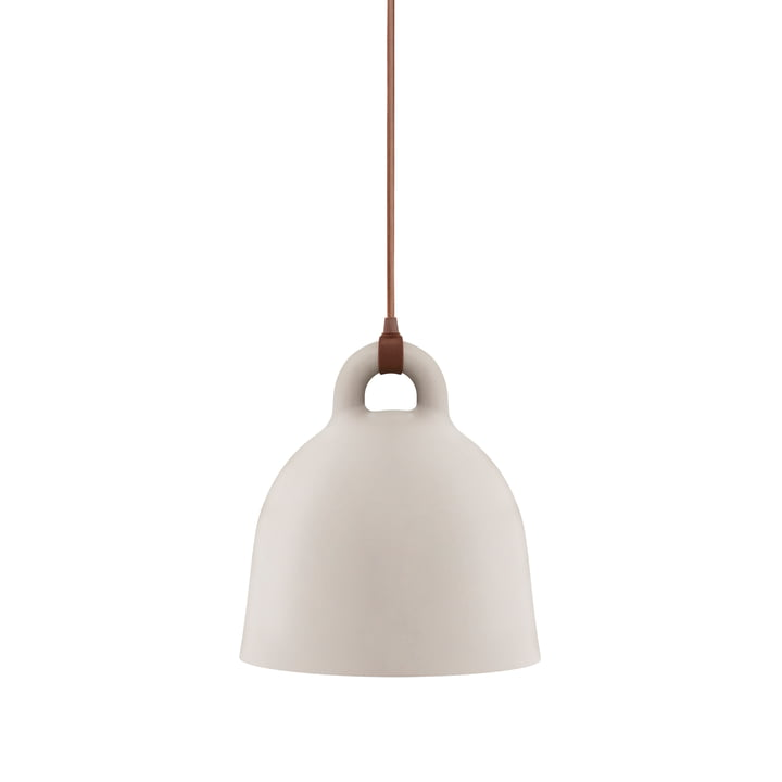 Bell pendant lamp by Normann Copenhagen in sand (small)