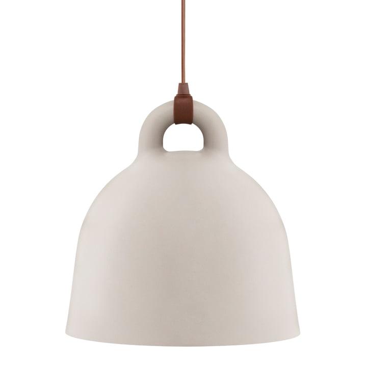 Bell pendant lamp by Normann Copenhagen in sand (large)