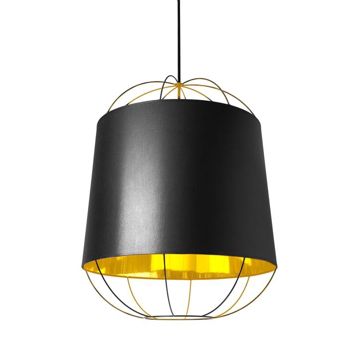 Lanterna pendant lamp, medium by Petite Friture in black / gold