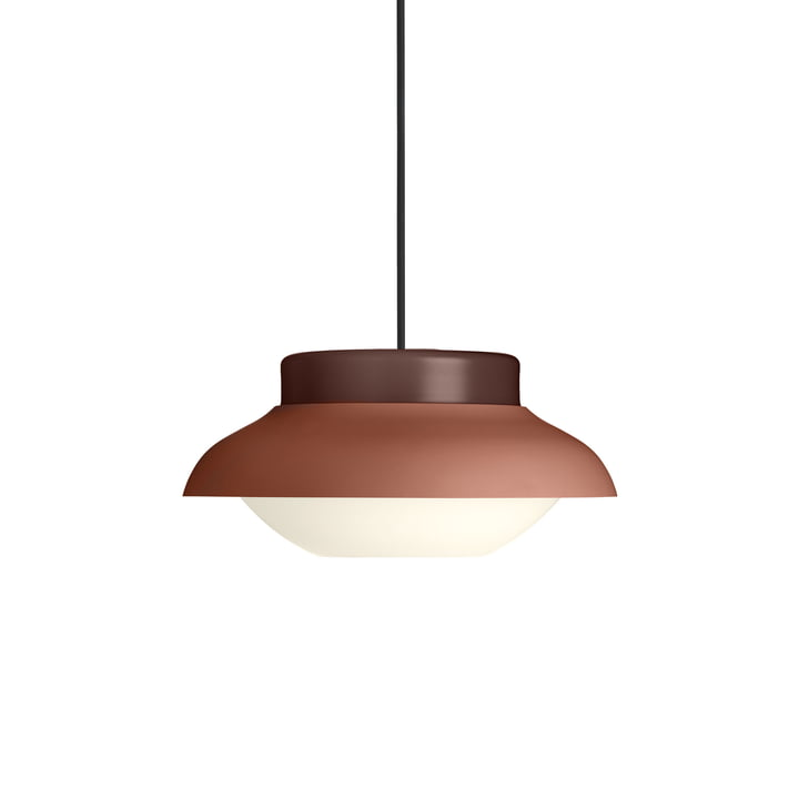 Collar 300 pendant lamp, terracotta light matt by Gubi