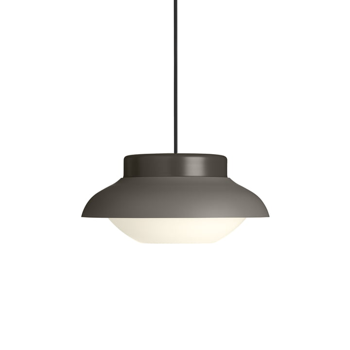 Collar 300 pendant lamp, taupe soft matt by Gubi