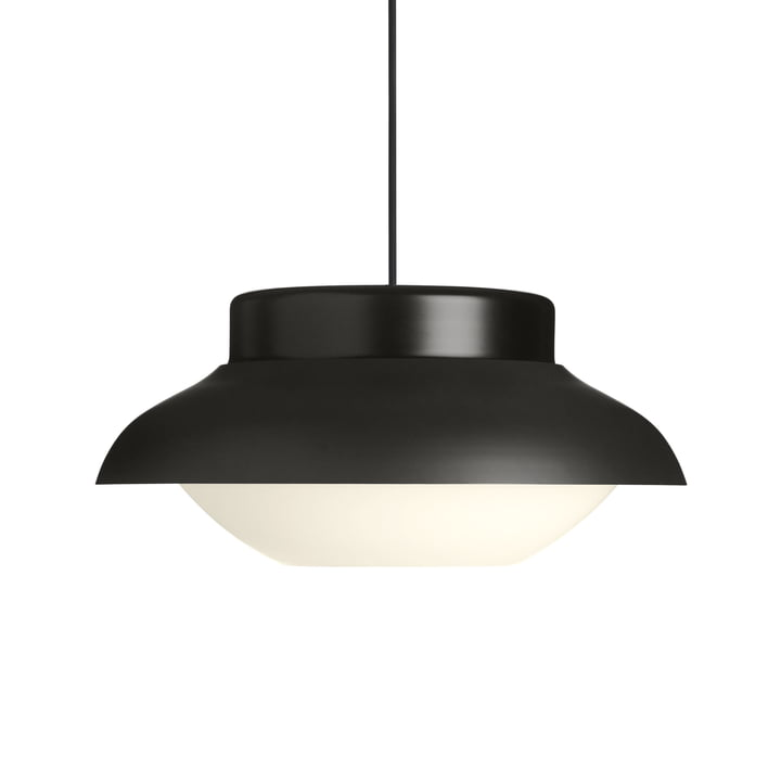 Collar 420 pendant lamp, carbone semi matt from Gubi