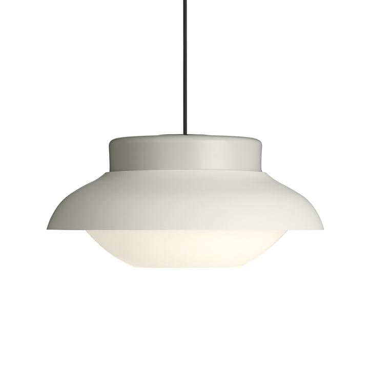 Collar 420 pendant lamp, soft fog matt by Gubi